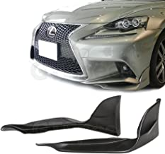 Remix Custom PU Front Body Bumper Lip Spoiler Kit Compatible with 2014 2015 2016 Lexus IS250F F-Sport IS350F