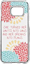 Case for Galaxy S7 Bible Verses,Galaxy S7 TPU Silicone Case,Samsung Galaxy S7 Motivational Life Quotes Case She Be But Little She is Fierce Case for Samsung Galaxy S7