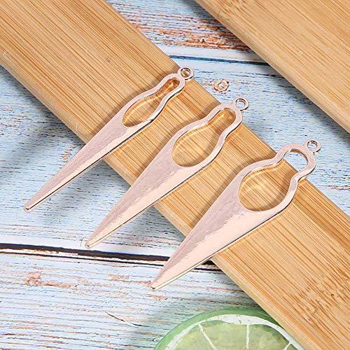 Crochet Crochet Durable Dreadlocks Aiguille pour Dreadlocks Faire pour tressage pour Salon pour Perruque Fabrication pour Hommes et Femmes(Ou rose)