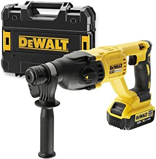 Dewalt DCH133M1 18v Brushless SDS Plus Rotary Hammer Drill 4AH Battery, Charger
