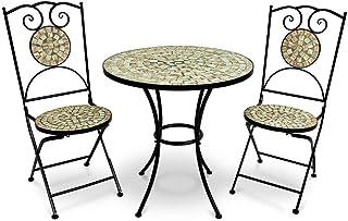 Deuba Conjunto de muebles de jardín Mosaico BILBAO set de