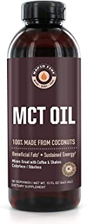 Rapid Fire MCT Oil, 100% Made from Coconuts, Ketogenic and Paleo Diet Approved, Weight Loss, Great in Keto Coffee, Tea and...