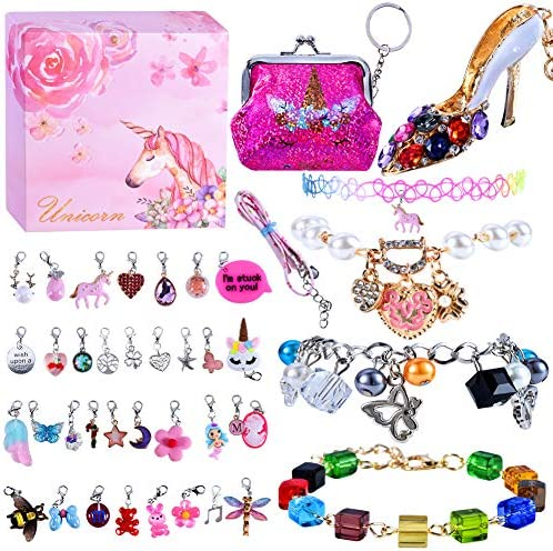 DIY Jewelry Bracelets for Girls Girls Jewelry Link Chain Bracelet Necklace Keychain Random Removable product image