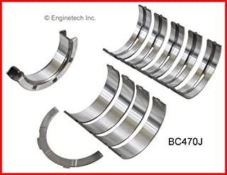 Enginetech BC455JSTD Main Bearings GM 3.8L 231 7//16 Main BoltS