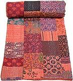 Colcha Kantha multicolor patchwork, colcha Kantha, colcha Kantha,...