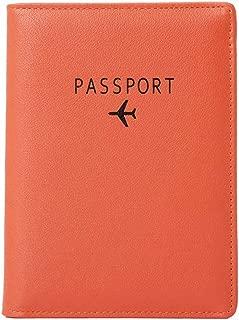 orange passport cover