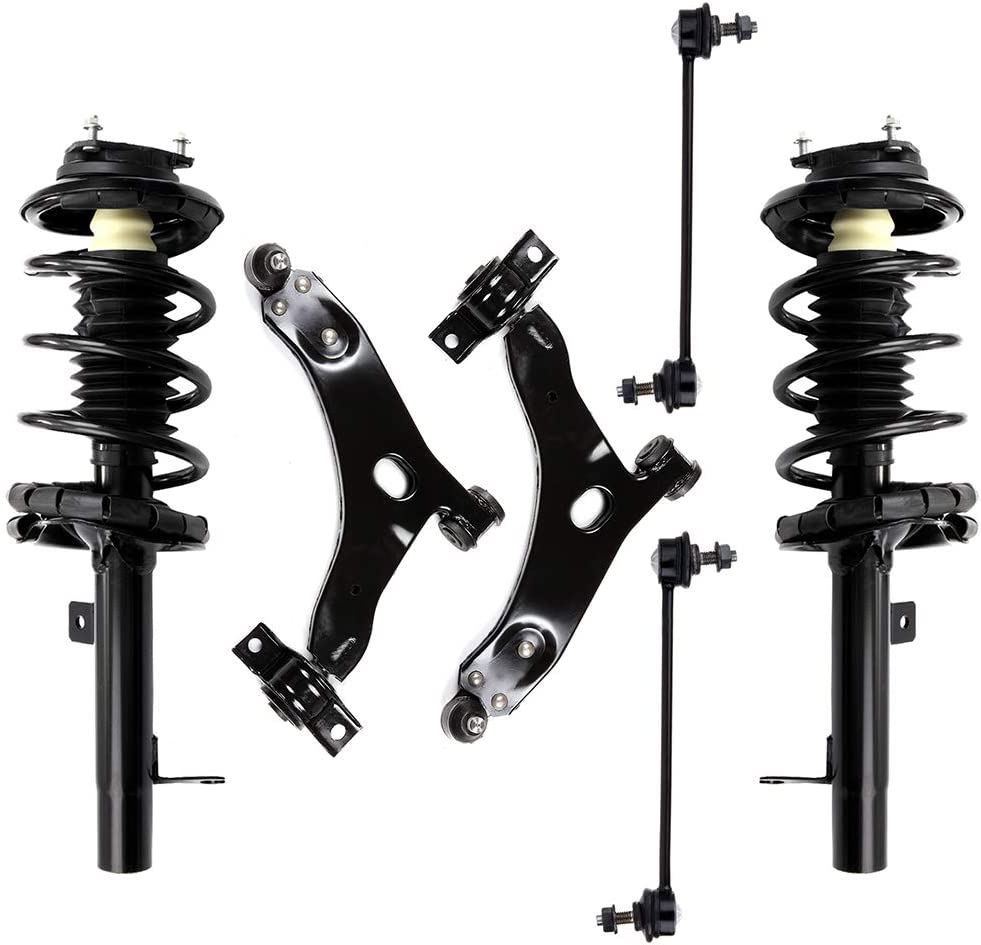 ECCPP Front Strut Spring Assembly Bombing free shipping Bar Financial sales sale Link Stabilizer Control