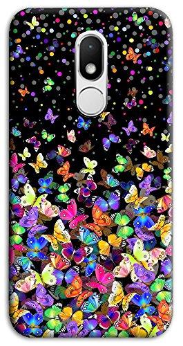 Mixroom - Cover Custodia Case in TPU Silicone Morbida per Wiko Wim Lite M575 Farfalle Multicolore