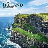 Ireland 2021 7 x 7 Inch Monthly Mini Wall Calendar, Scenic Travel Dublin Irish