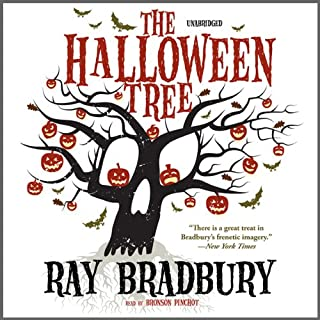The Halloween Tree                   By:                                                                                                                                 Ray Bradbury                               Narrated by:                                                                                                                                 Bronson Pinchot                      Length: 3 hrs and 9 mins     1,311 ratings     Overall 4.1