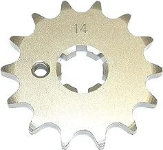 Kawasaki Steel Front Sprocket KX 60 1985-2003/ KX 65 2000-2017/ KDX 80 1984-1988/ KX 80 1984-2000 14 Teeth FSY-012-14 OEM #: 13144-1022, K1314-41022