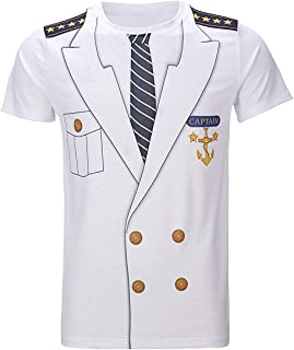 captain uniform shirt