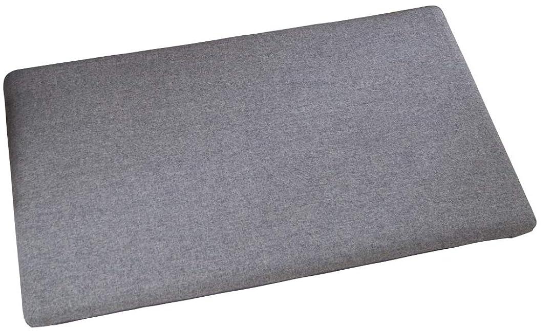 退屈な副産物ビジュアル長座布団 高反発ウレタンロングフロアクッション7cm厚 (ブラウン, 65×115cm) …