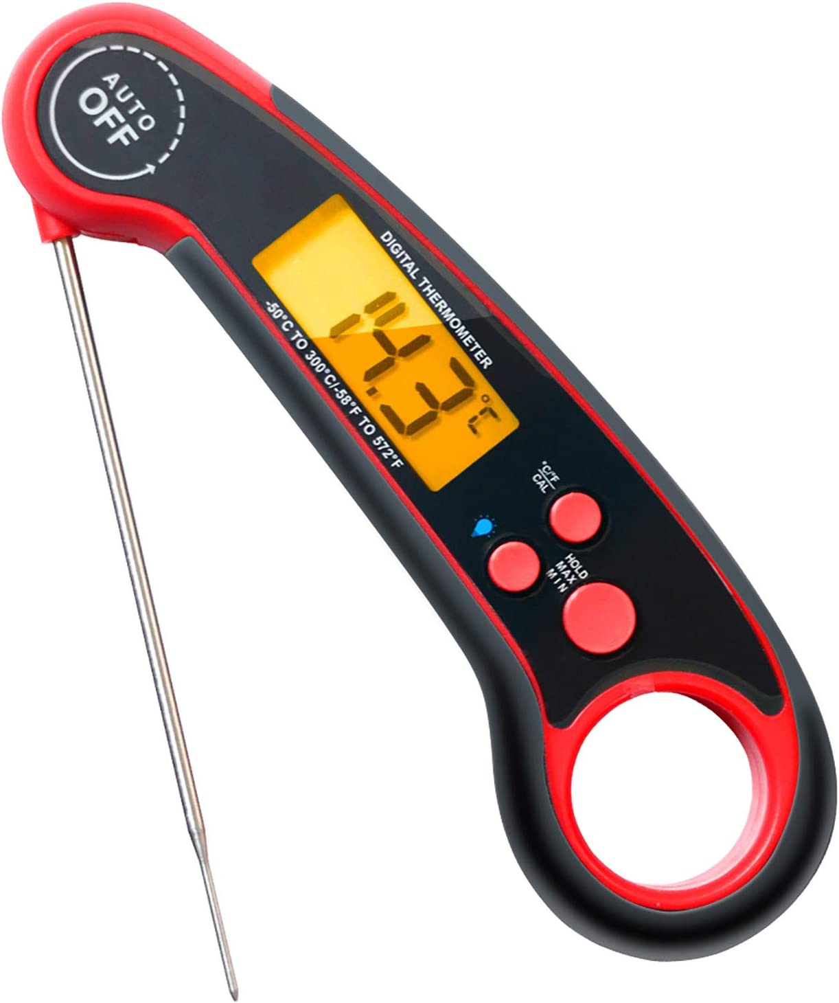 Meat Thermometer Estefanlo Magnet Read Instant Al sold out. Minneapolis Mall Therm Adsorption