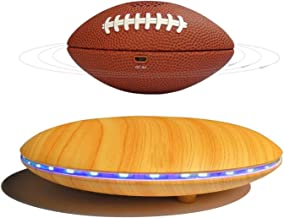 HFJKD Magnetic Levitating Speaker, Football Style 3W Portable Wireless Speaker with LED, Bluetooth 4.1, 360° Rotation, for... photo