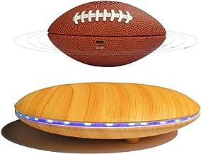 $236 » FGVDJ Floating Rugby Bluetooth Speaker, Portable Rugby Speaker with LED Light Magnetic Levitating Night Light, for Home De...