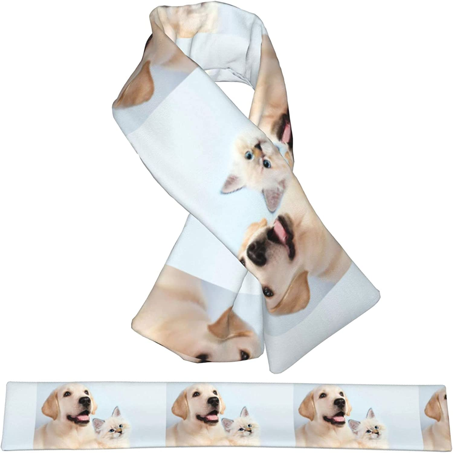 Dog Quantity limited And Cat Plush Children Scarf Warm Sales Double-Sided