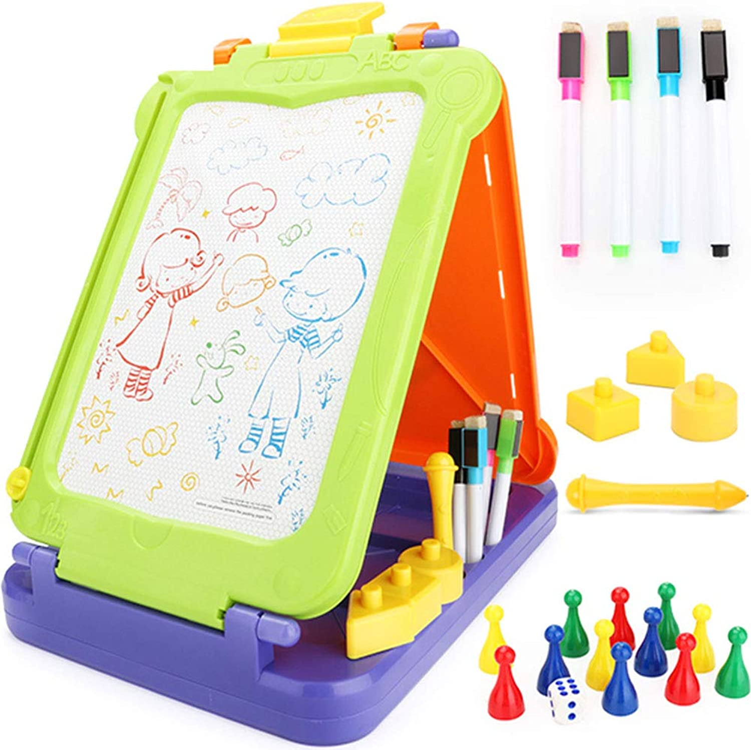 Black Temptation Three sides Magnetic Drawing Board,Writing Board,Doodle Board kids for learning
