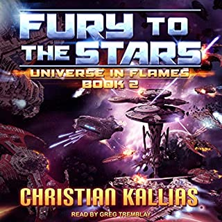 Fury to the Stars cover art