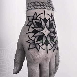 ljmljm 3 Unids Impermeable Etiqueta Engomada del Tatuaje Cabeza ...