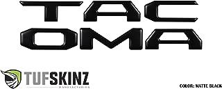 TufSkinz | 6 Piece Tailgate Insert kit (Matte Black) - Fits 2016-up Tacoma Models