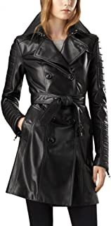 Best womens leather overcoat Reviews