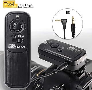 PIXEL RW-221/E3 Mando a Distancia Disparador inalámbrico Cable Disparador para Canon EOS cámaras