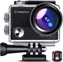 Crosstour CT9100 4K 20MP Action Camera with WiFi EIS LDC Remote Control Sports Camera 40M Waterproof Underwater Camcorder ...