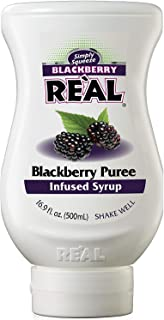 Real Blackberry Puree Infused Syrup, 500 ml