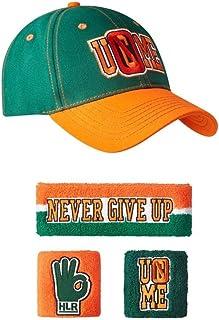John Cena - Juego de diademas de béisbol (15 unidades), color verde y naranja