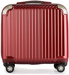 Cooralledtooere Convenient and Practical, More Storage Space, Business Trolley case, Ideal Suitcase for Perfect Journey, Boarding Suitcase (Color : Red, Size : 18 inches)