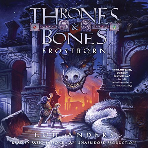 Frostborn audiobook cover art