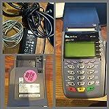 VeriFone vx510/5100 omni 3730 dial credit card swiper/printer M251-000-03