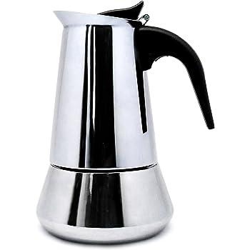 Ilsa 314Y4 - Cafetera Inoxidable Induccion 4 Tazas: Amazon.es: Hogar