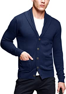 Matchstick Men's Shawl Collar Cardigan #12088