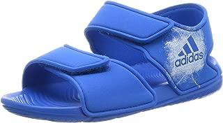 adidas Australia Girls AltaSwim Slides, Core Pink/Footwear White/Footwear White