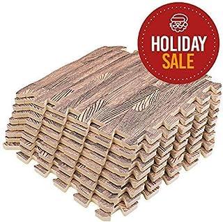 interlocking 拼图木质车垫