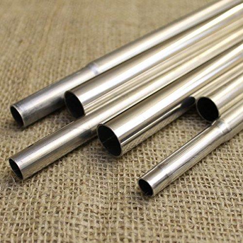 Aluminium Pole Rods Tubes Fruit Cage Poles Garden Frame Tube Protection Tubing (16mm x 900mm(PK 8))