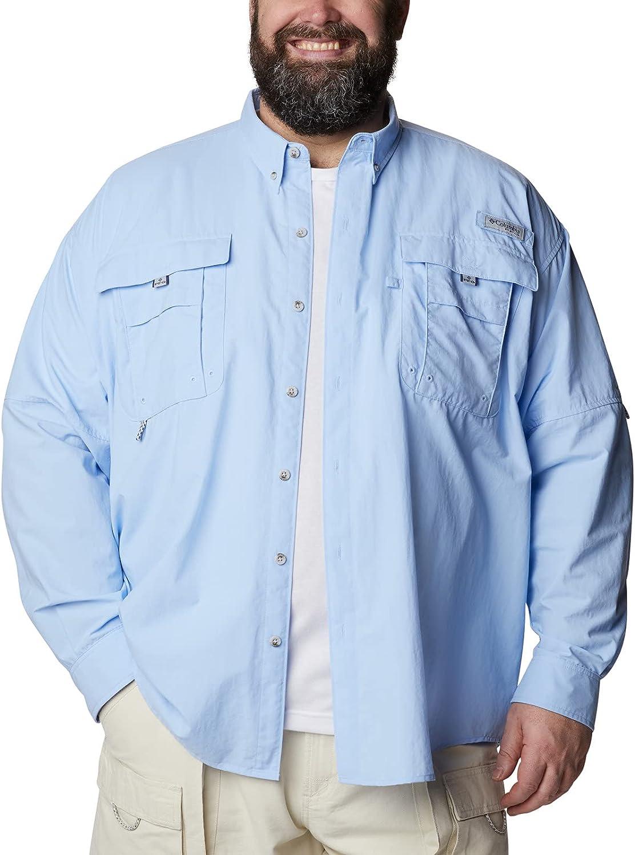 Columbia Men's Bahama NEW before selling ☆ II Sleeve Shirt Max 50% OFF Long