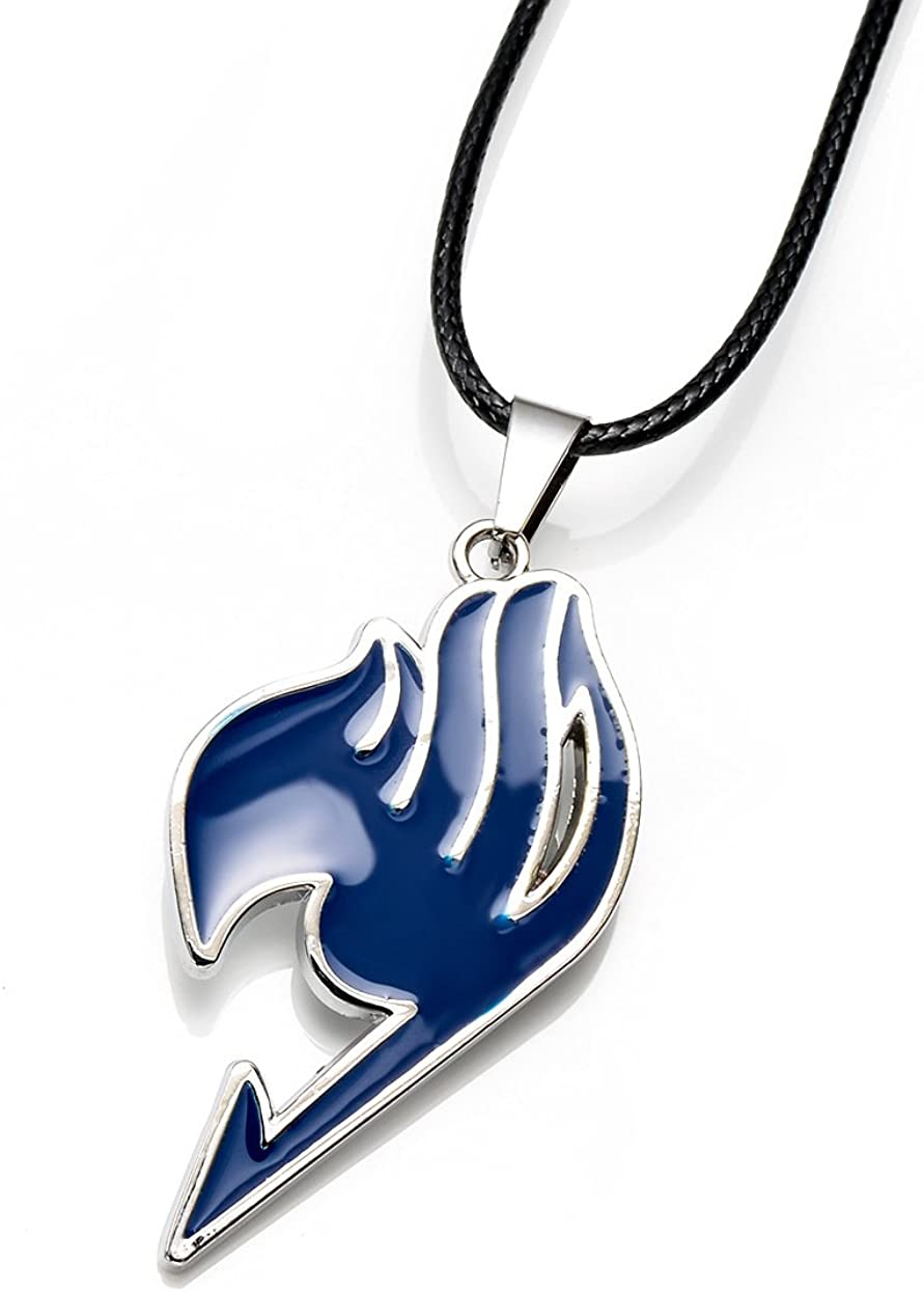 New Anime Fairy Tail Magic Association's Symbol 4 Colors Alloy Necklace Pendent U Pick
