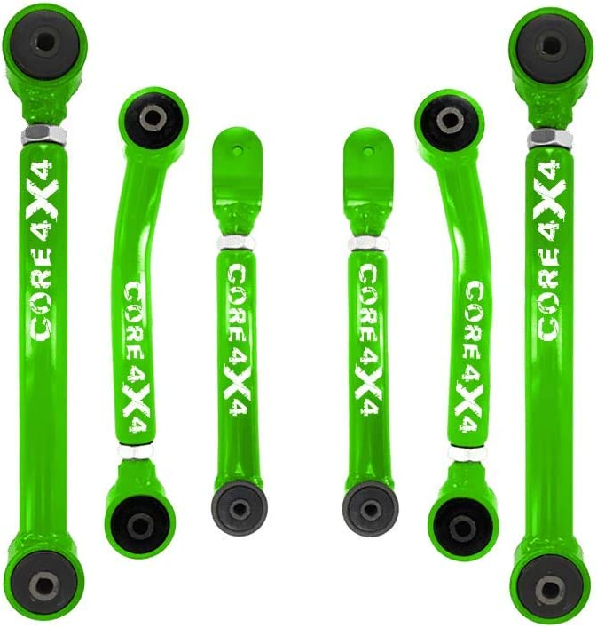 Adjustable Control Arms Front Upper T1 Grand Cherokee WJ 1999-2004 Light Green