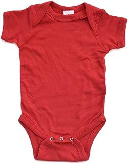 Super Soft Cotton Blank Plain Comfy Baby Short Sleeve Bodysuit