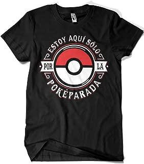 2156-Camiseta Pokemon - Estoy aqui por la Pokeparada (Olipop)