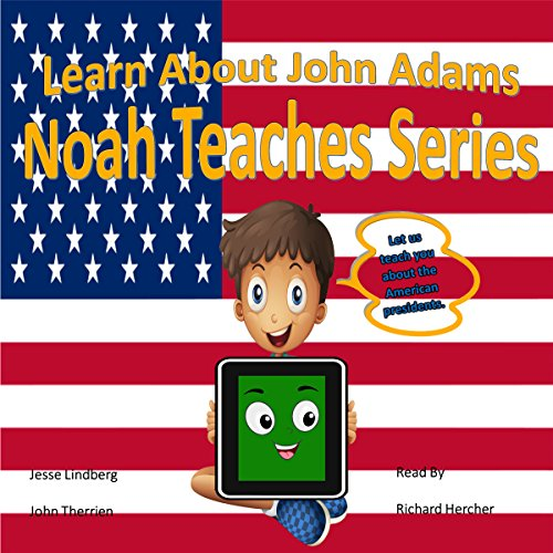 Learn About John Adams audiobook cover art