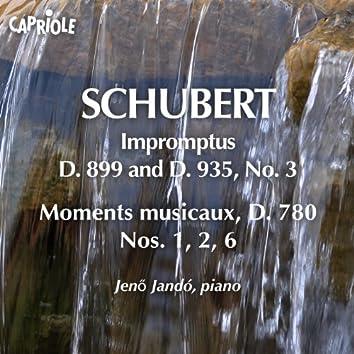 Schubert, F.: Impromptus, D. 899 and D. 935, No. 3 / 6 Moments Musicaux (Excerpts)