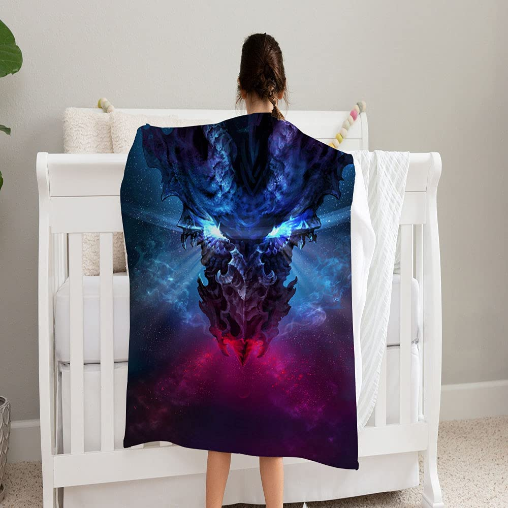 LPVLUX Huge Boston Mall Cheap SALE Start Black Dragon Gothic Style and Super Soft Coz Glowing