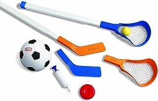 Little Tikes Easy Score Soccer, Hockey, Lacrosse Set with Net