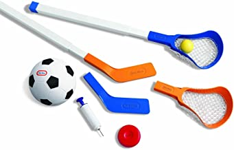 easy score soccer hockey and lacrosse set