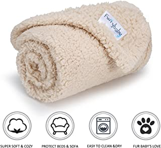furrybaby Premium Fluffy Fleece Dog Blanket, Soft and Warm Pet Throw for Dogs & Cats (Small (24 * 32