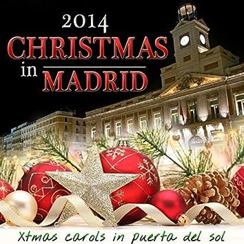 2014 Christmas in Madrid. Xmas Carols in Puerta del Sol